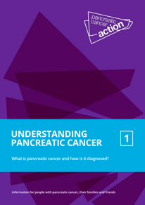 "Cover of ""understanding pancreatic cancer"" booklet one"
