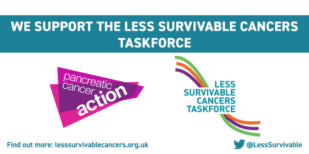 We support the Less Survivable Cancer Taskforce