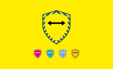 Image of the different shield badges