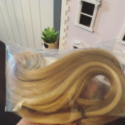 Alba's Hair Donation