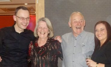 Calum, Pauline, David and Lesley Irving
