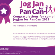 JogJan for PanCan Certificate