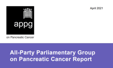All-Party Parliamentary Group on Pancreatic Cancer Report The Impact of Covid-19 on Pancreatic Cancer Treatment and Care in England