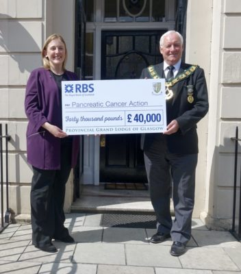 FREEMASONS CHEQUE ACCEPTANCE FEATURING JIM AND FIONA